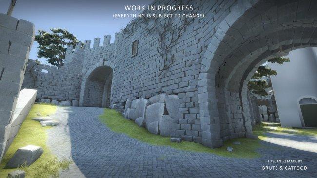 Новый скриншот ремейка Tuscan в CS:GO