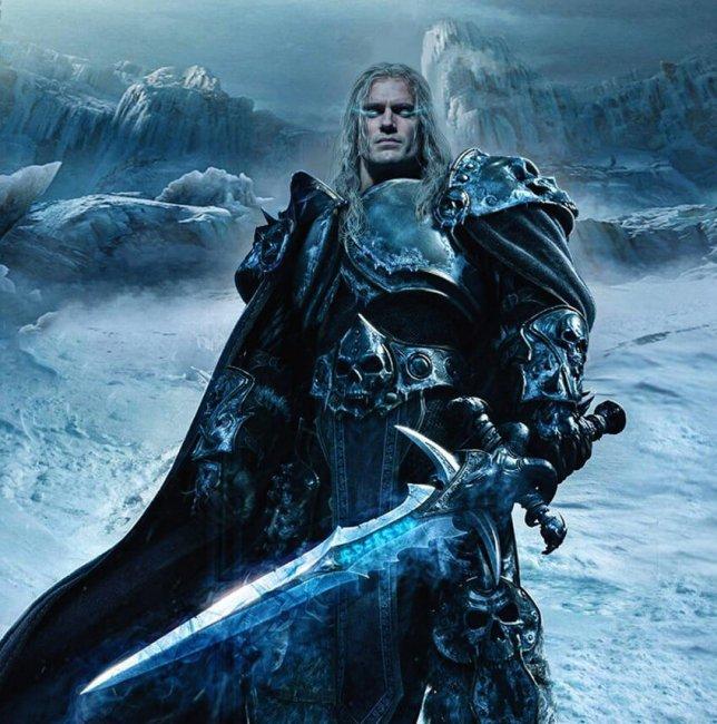 Авторы World of Warcraft хотели бы увидеть Артаса в исполнении Генри Кавилла - Игры