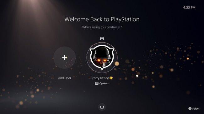 Интерфейс PlayStation 5 - Игры