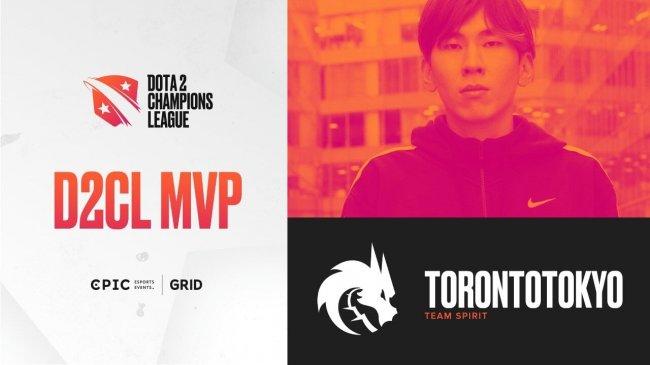 TorontoTokyo стал MVP Dota 2 Champions League 2021 S1