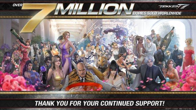 Продажи Tekken 7 достигли 7 миллионов копий - Игры