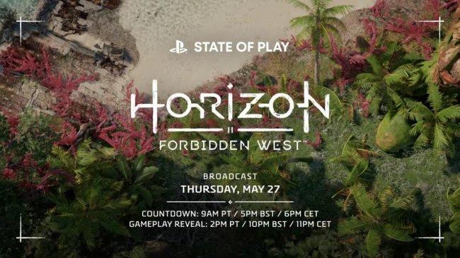 Геймплей Horizon Forbidden West покажут на State of Play 27 мая - Игры