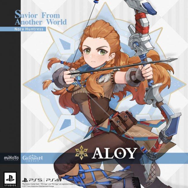 Элой из Horizon Zero Dawn станет играбельным персонажем в Genshin Impact - Игры