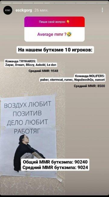 Zayac, Dream, Blizzy и еще 7 игроков из Кыргызстана собрались на общем буткемпе