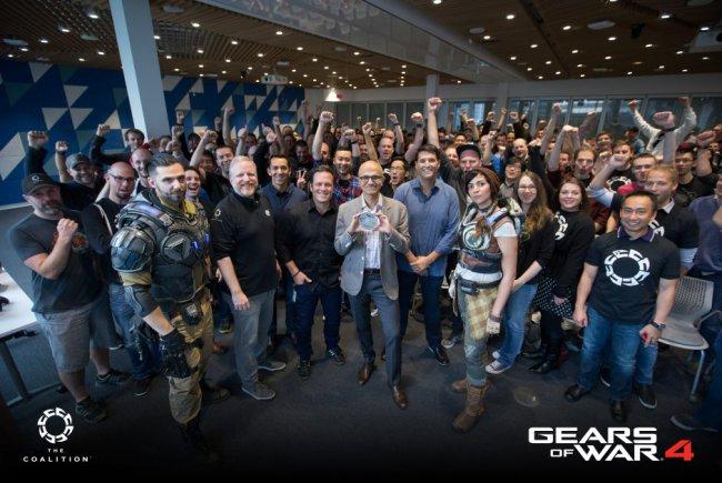 Gears of War 4 ушла «на золото»